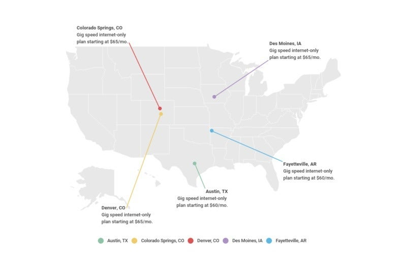 Top Cities Offering The Fastest Internet In The U S Allconnect
