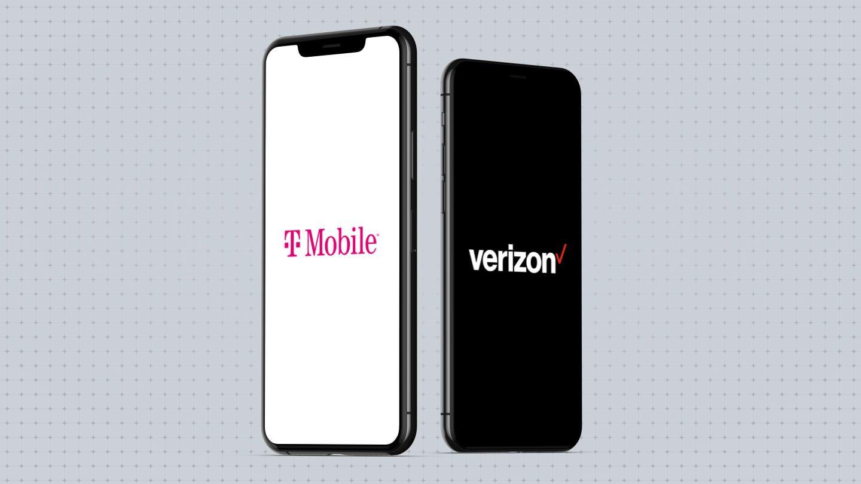 T Mobile Vs Verizon Comparison Plans Deals Network Coverage
