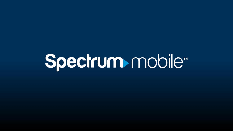 Hero image with Spectrum Mobile logo