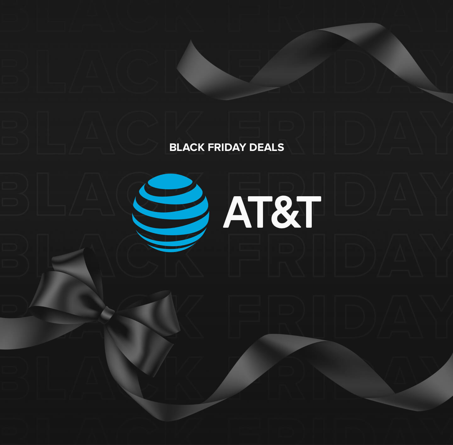 Image promoting AT&T Black Friday deals