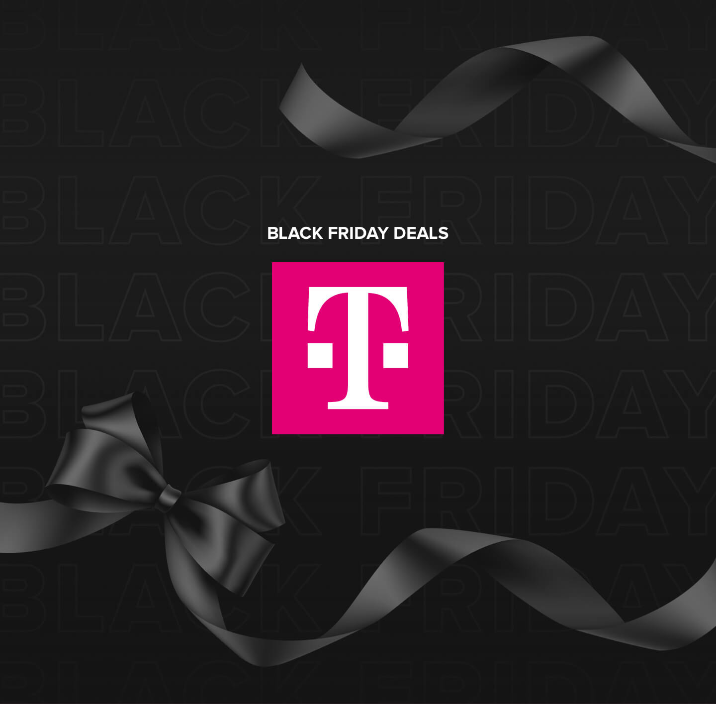 Image promoting T-Mobile's Black Friday deals