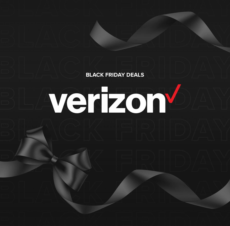 Image promoting Verizon's Black Friday deals