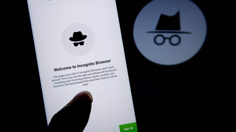 Incognito mode browswer