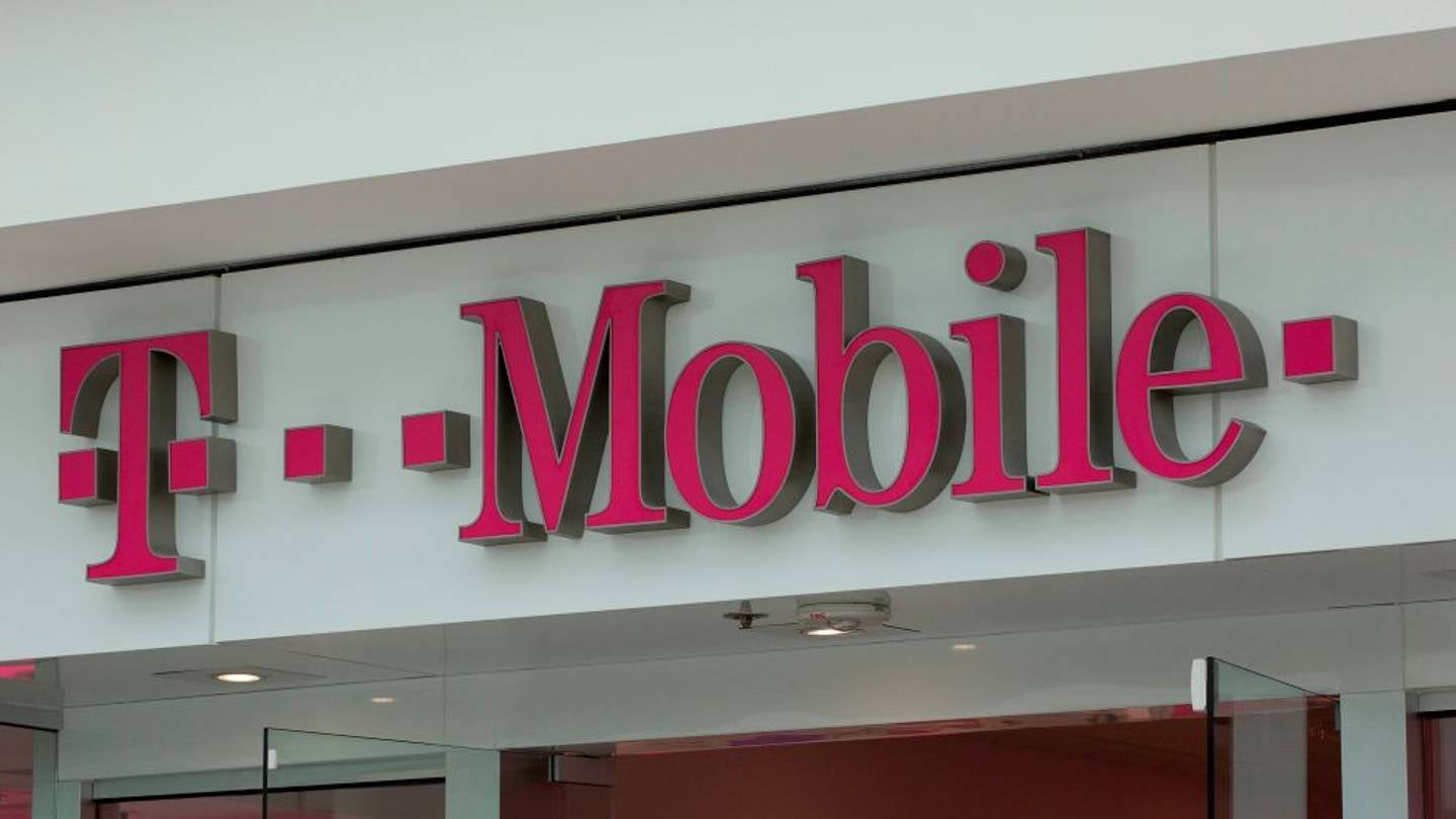 Sign of T-Mobile store